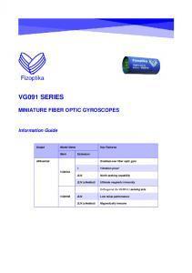 Gyromètre laser ou gyrolaser VG091