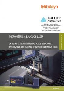 LSM-5200 Afficheur de Micromètre à Balayage Laser