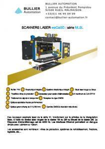 Capteurs de profil weCat3D MLSL