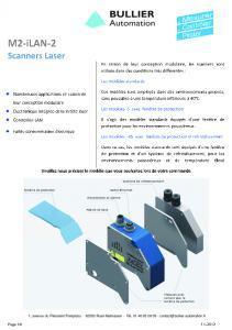 M2-iLAN2 Scanner laser