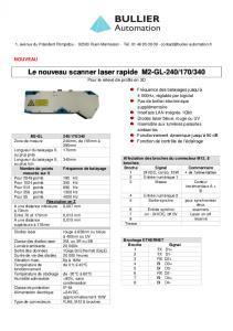 Scanners laser M2-GL