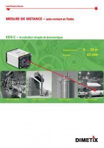 Télémètre laser EDS-C - BULLIER Automation