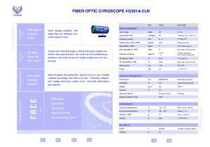 VG091A-2LN - Gyromètre laser