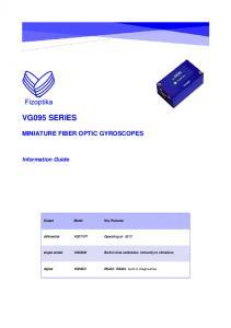 VG095 - Mode d'emploi du gyromètre