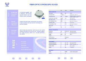 VG103D - Gyromètre très précis