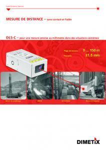 Télémètres laser DLS-C