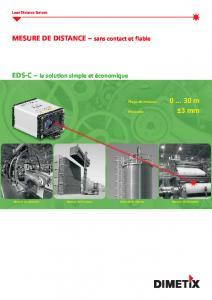 Télémètre laser EDS-C