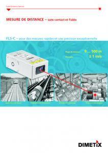 Télémètre laser FLS-C